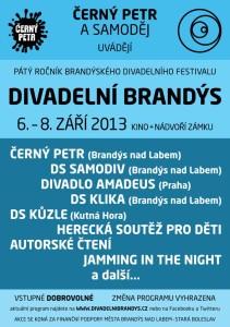 Plakát na DB 2013