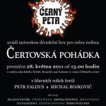Čertovská pohádka – plakát na premiéru A3 – stáhnout PDF